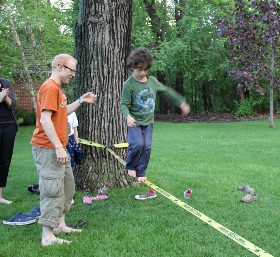 How To Slackline Making The First Steps As A Beginner